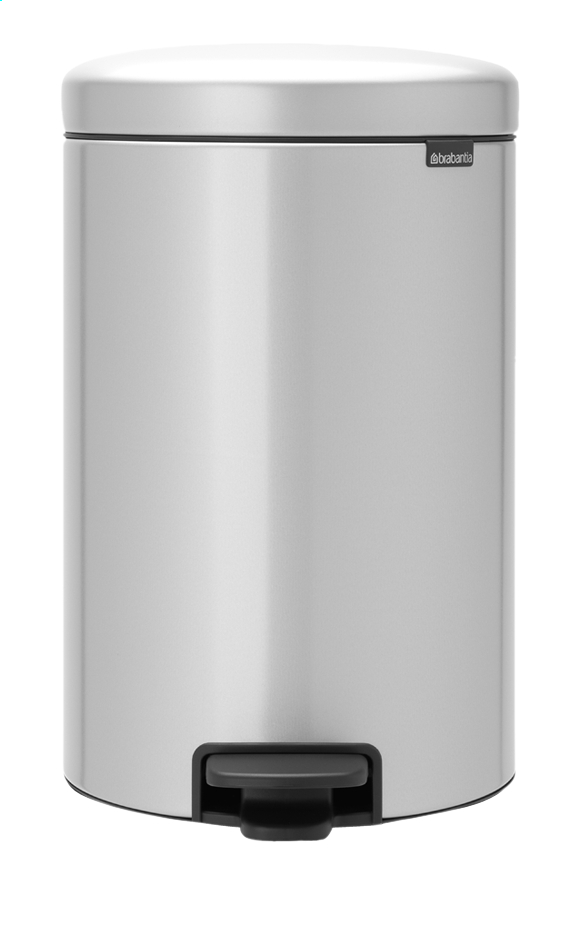 Afbeelding van Brabantia Pedaalemmer newIcon metallic grey 20 l from ColliShop