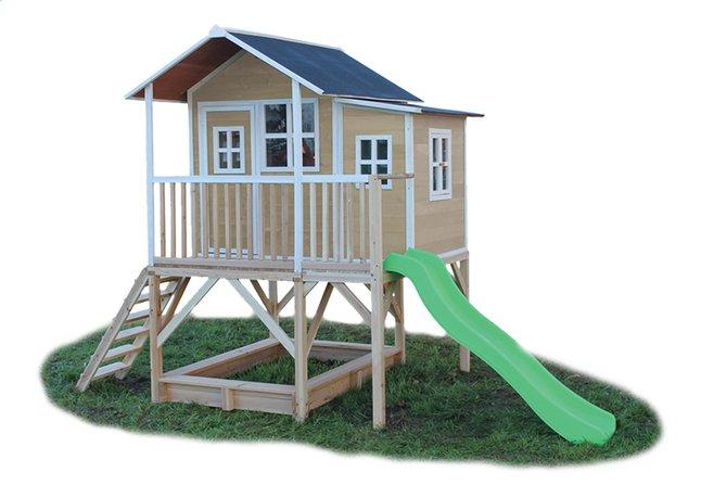 Afbeelding van EXIT houten speelhuisje Loft 550 naturel from ColliShop