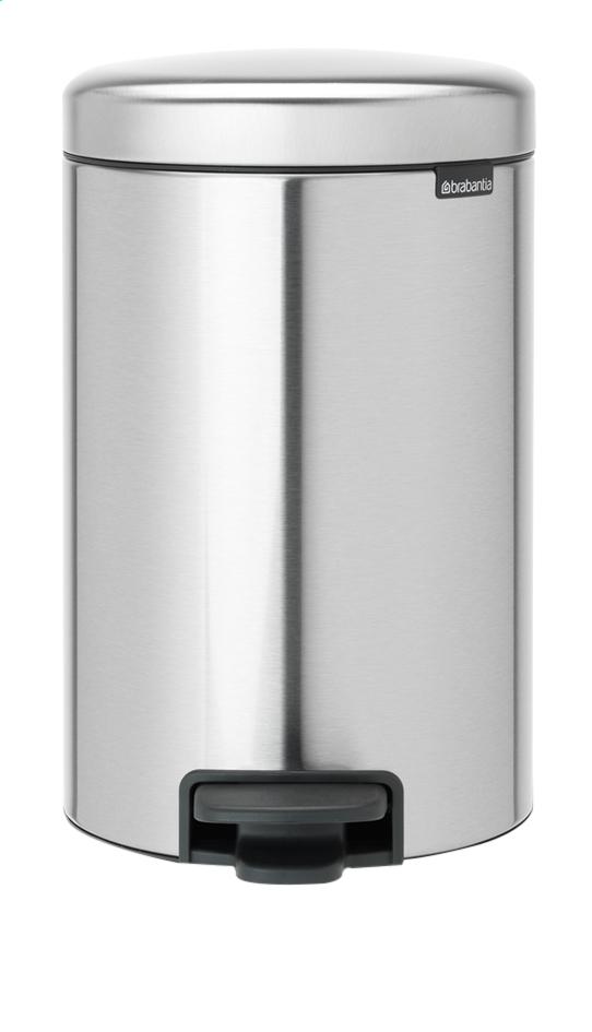 Image pour Brabantia Poubelle à pédale newIcon matt steel FPP 12 l à partir de ColliShop