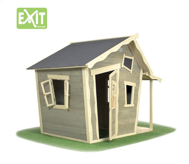 Afbeelding van EXIT houten speelhuisje Crooky 150 from ColliShop