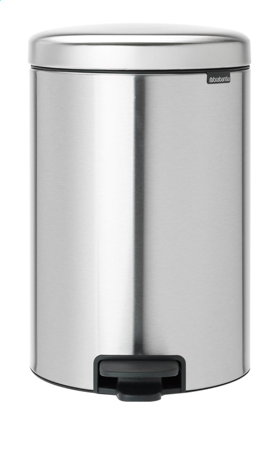 Afbeelding van Brabantia Pedaalemmer newIcon matt steel FPP 20 l from ColliShop