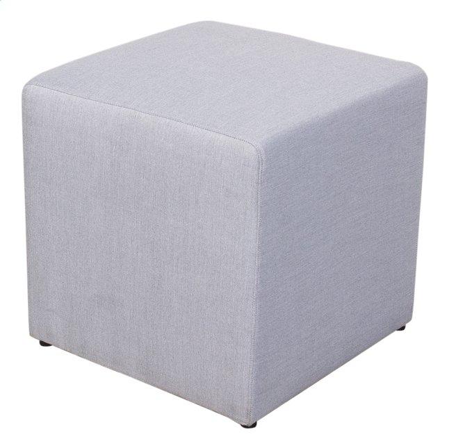 Image pour Siège cube gris clair à partir de ColliShop
