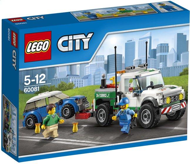 Afbeelding van LEGO City 60081 De pick-up-sleepwagen from ColliShop