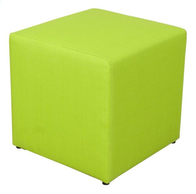 Image pour Siège cube lime à partir de ColliShop