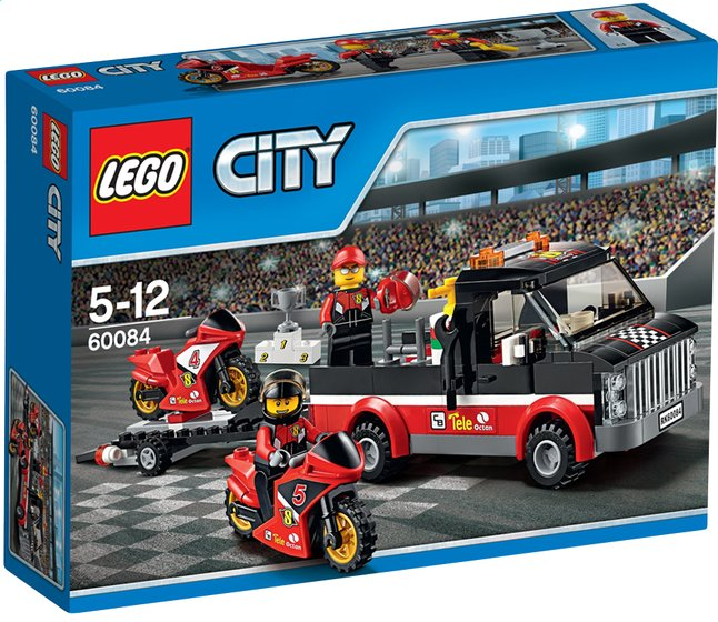 Image pour LEGO City 60084 Le transport de motos de course à partir de ColliShop