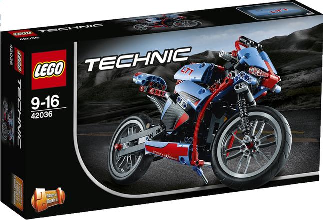 Image pour LEGO Technic 42036 La moto urbaine à partir de ColliShop