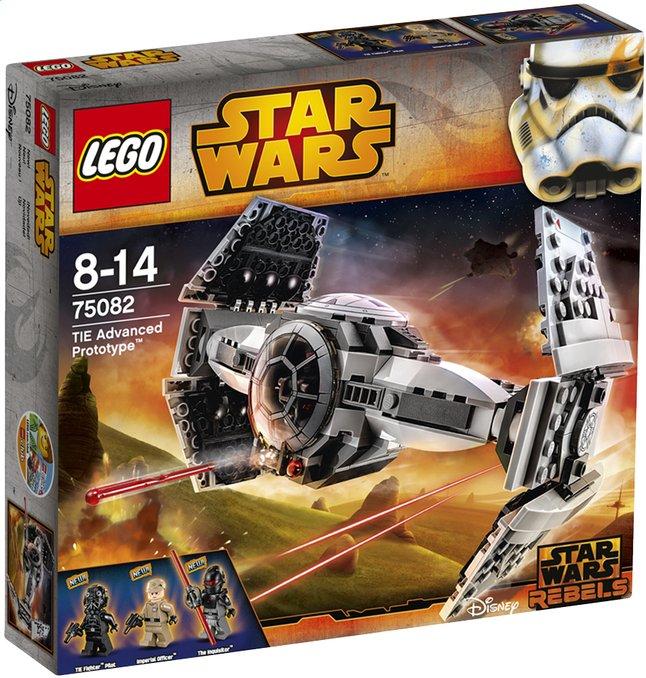 Image pour LEGO Star Wars 75082 TIE Advanced Prototype à partir de ColliShop