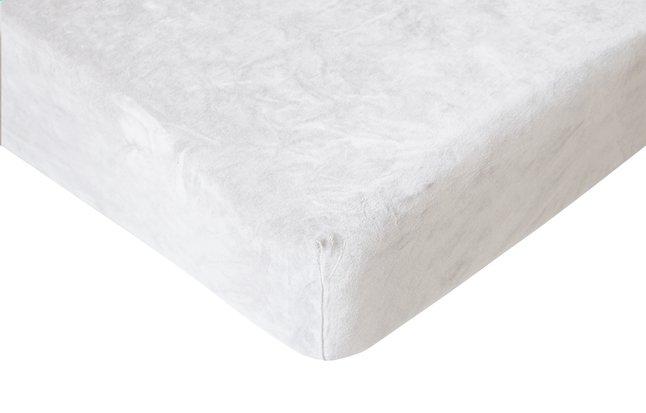 Image pour Romanette Drap-housse velours blanc 90 x 200 cm à partir de ColliShop