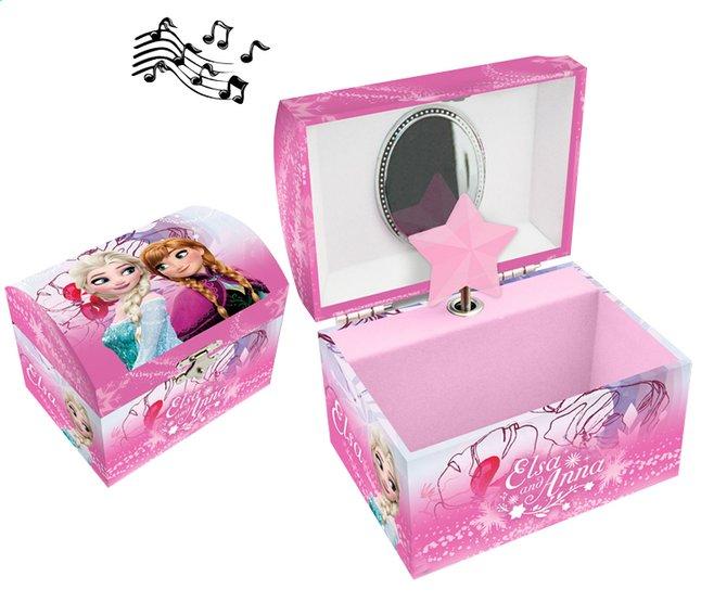 Afbeelding van Juwelendoosje met muziek Disney Frozen roze from ColliShop