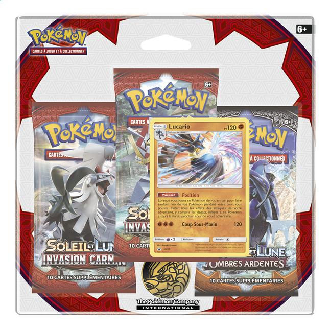 Image pour Pokémon Trading Cards Ex Soleil & Lune 4, Invasion Carmin Lucario à partir de ColliShop