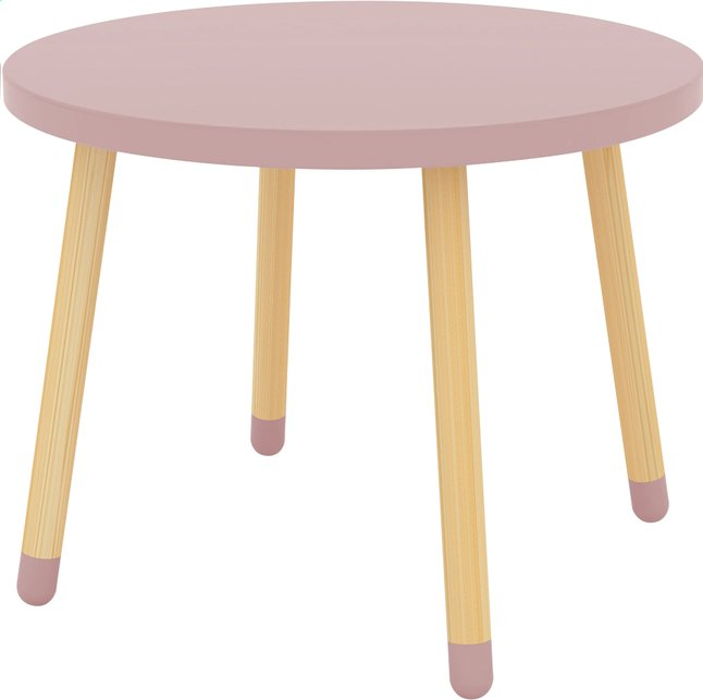 Image pour Table Flexa Play rose à partir de ColliShop