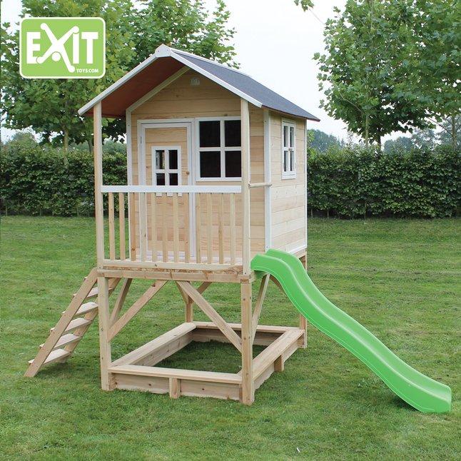 Image pour EXIT maisonnette en bois Loft 500 naturel à partir de ColliShop