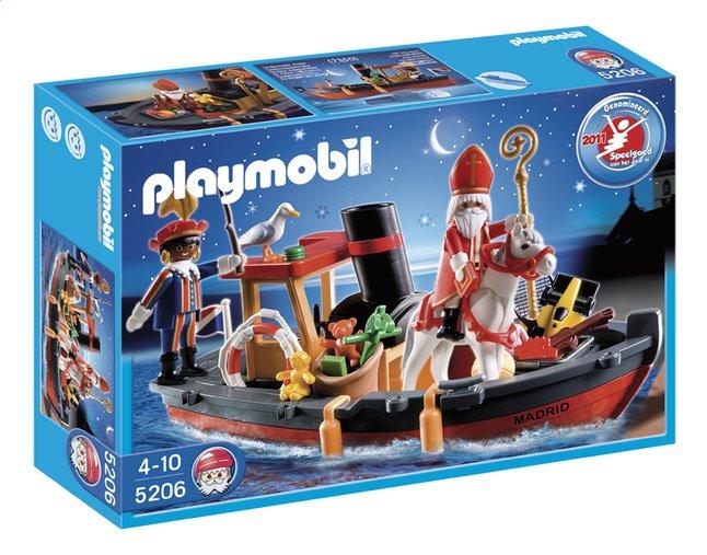 Afbeelding van Playmobil Sinterklaas 5206 Stoomboot van Sinterklaas from ColliShop