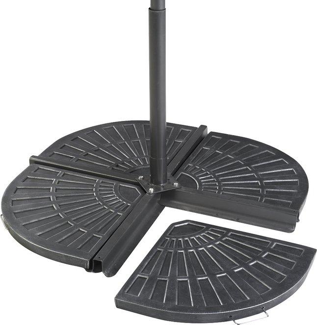 Image pour 2 éléments de lestage en fibre d'argile pour parasol suspendu à partir de ColliShop
