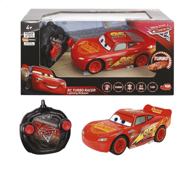 Image pour Dickie Toys voiture RC Disney Cars Flash McQueen à partir de ColliShop