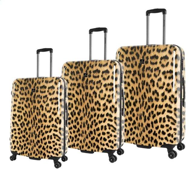 Image pour Saxoline set de 3 valises rigides Leopard à partir de ColliShop
