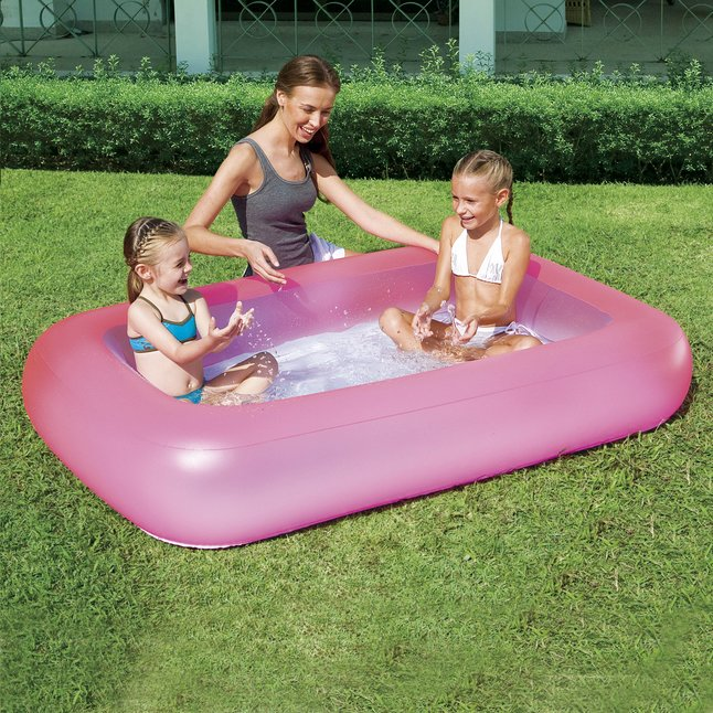 Image pour Bestway piscine pour bébé Aquababes rose à partir de ColliShop