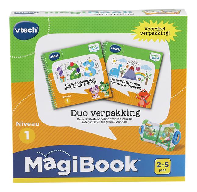 VTech MagiBook Cijfers ontdekken + Ga op avontuur met vormen & kleuren