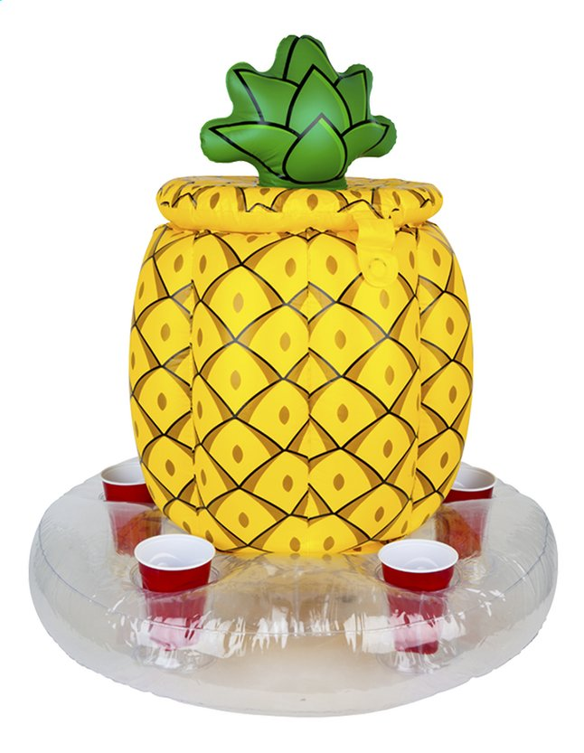 Afbeelding van BigMouth opblaasbare ijskoeler ananas from ColliShop