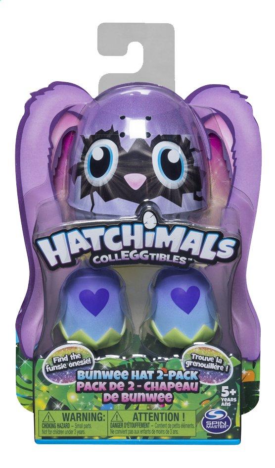 Afbeelding van Hatchimals CollEGGtibles Bunwee Hat 2-pack from ColliShop