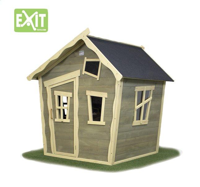 Image pour EXIT maisonnette en bois Crooky 100 à partir de ColliShop