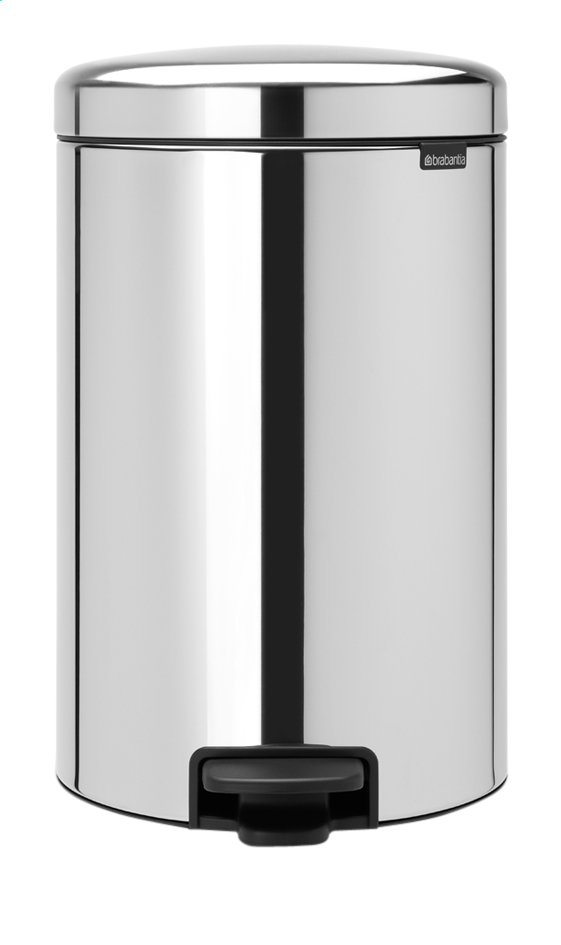 Afbeelding van Brabantia Pedaalemmer newIcon Brilliant Steel 20 l from ColliShop