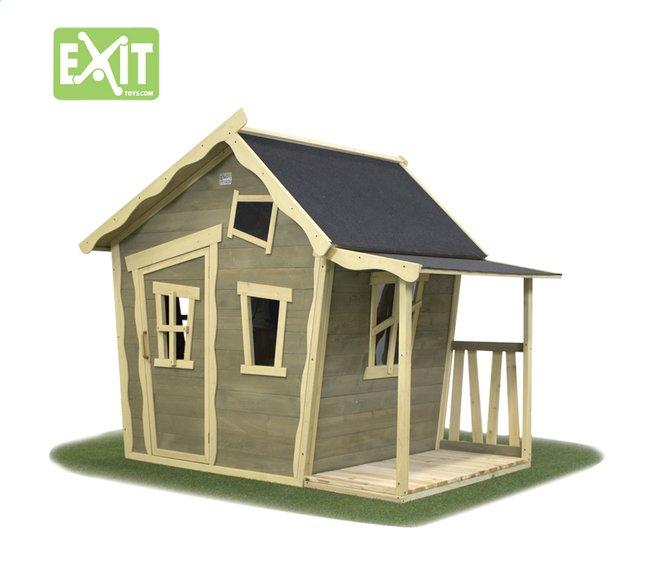 Image pour EXIT maisonnette en bois Crooky 150 à partir de ColliShop