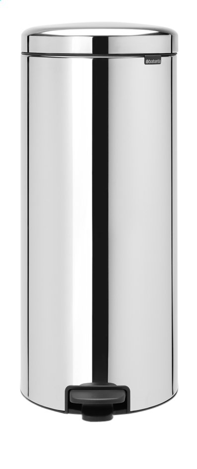 Afbeelding van Brabantia Pedaalemmer NewIcon Brilliant Steel 30 l from ColliShop