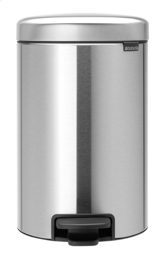 Afbeelding van Brabantia Pedaalemmer NewIcon Matt Steel 12 l from ColliShop