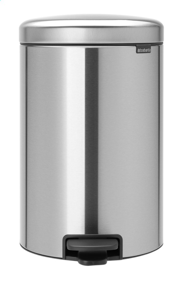 Afbeelding van Brabantia Pedaalemmer newIcon matt steel 20 l from ColliShop