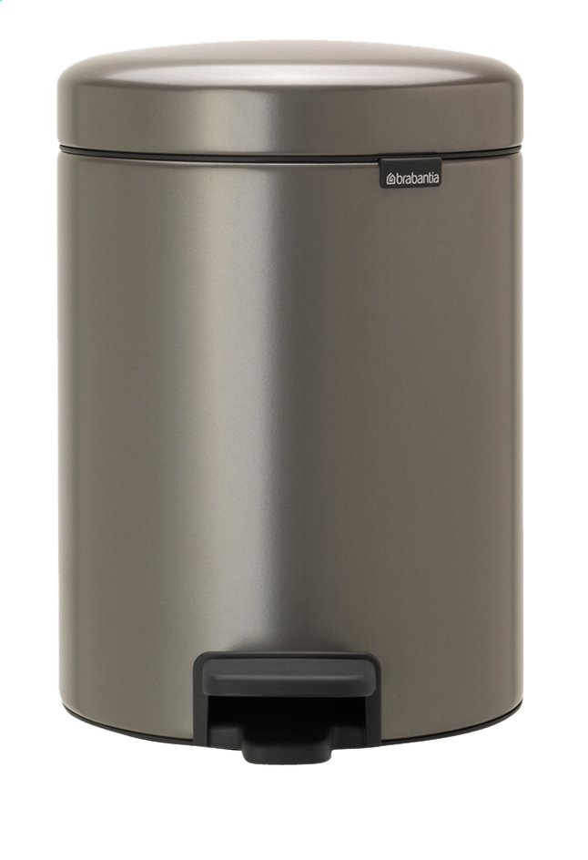 Afbeelding van Brabantia Pedaalemmer newIcon platinum 5 l from ColliShop