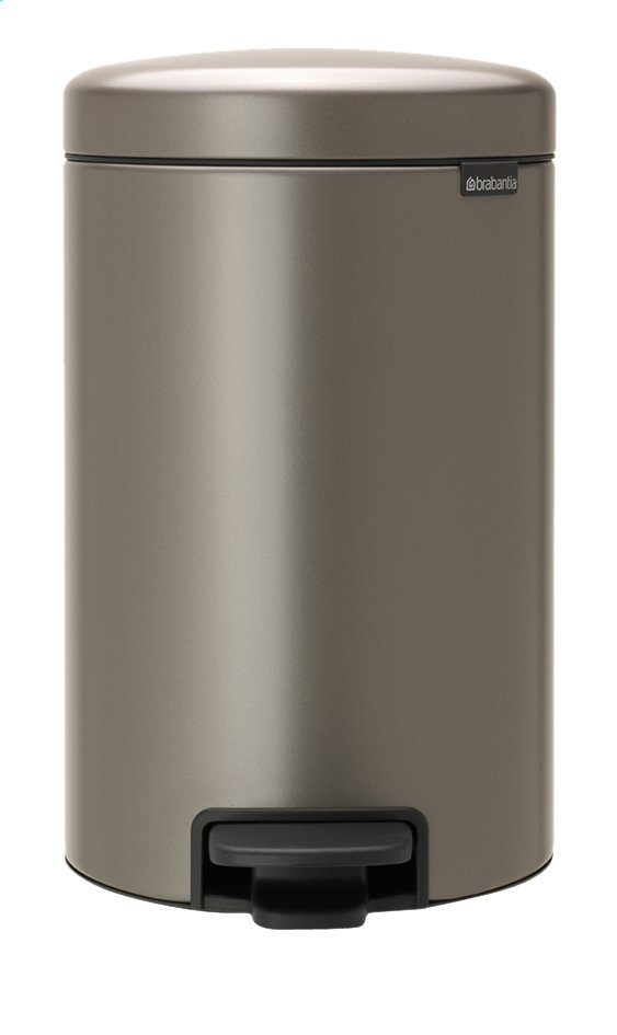 Afbeelding van Brabantia Pedaalemmer newIcon platinum 12 l from ColliShop