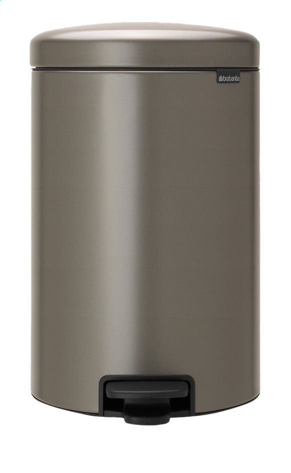 Afbeelding van Brabantia Pedaalemmer newIcon platinum 20 l from ColliShop