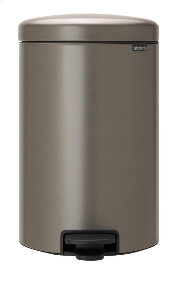 Image pour Brabantia Poubelle à pédale newIcon platinum 20 l à partir de ColliShop