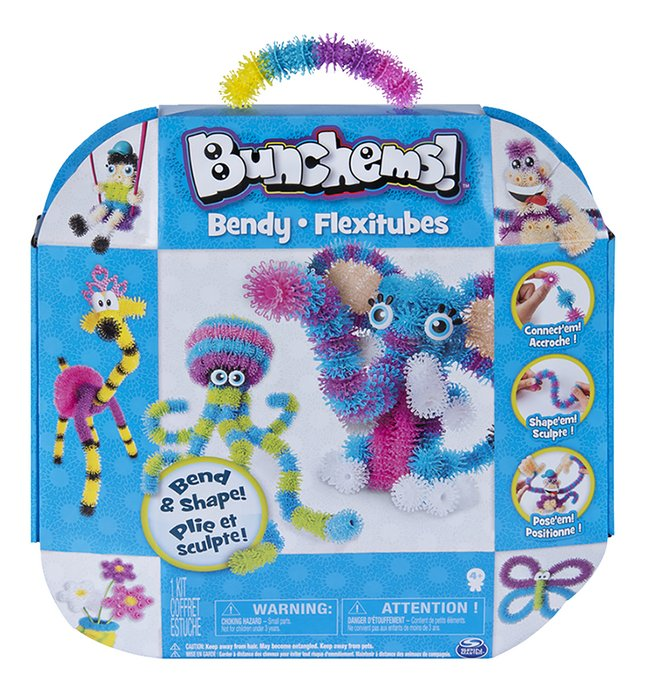 Spin Master Bunchems! Bendy Flexitubes