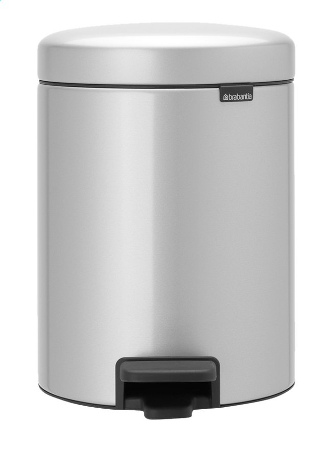 Afbeelding van Brabantia Pedaalemmer newIcon metallic grey 5 l from ColliShop