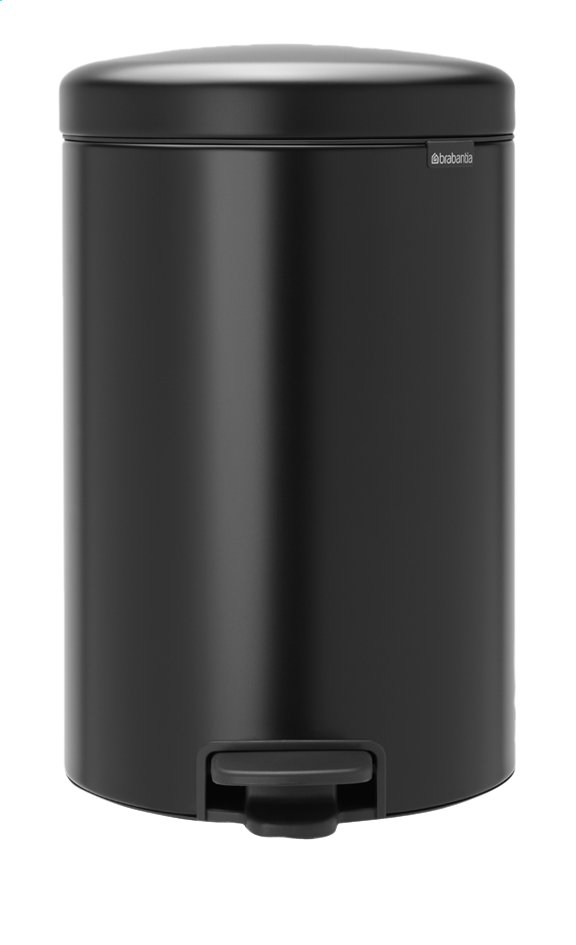 Afbeelding van Brabantia Pedaalemmer newIcon matt black 20 l from ColliShop