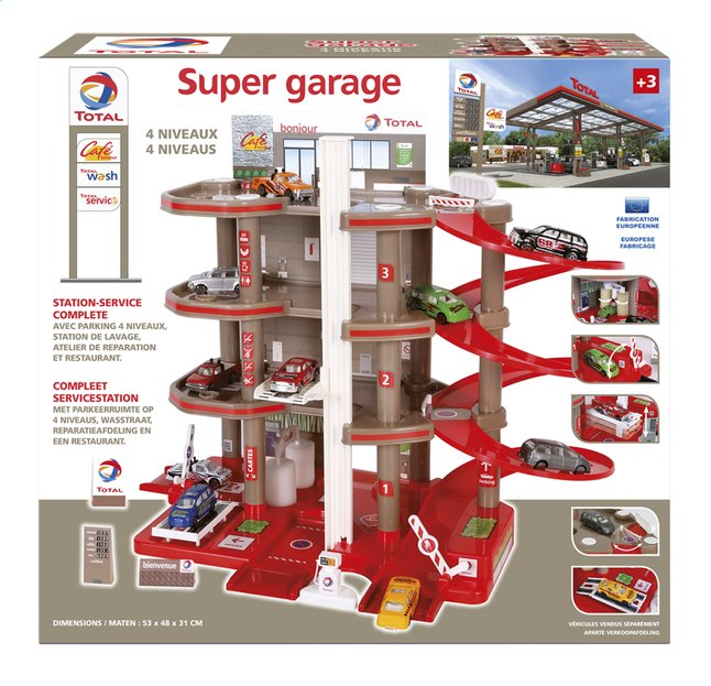 Afbeelding van Servicestation Super garage Total from ColliShop