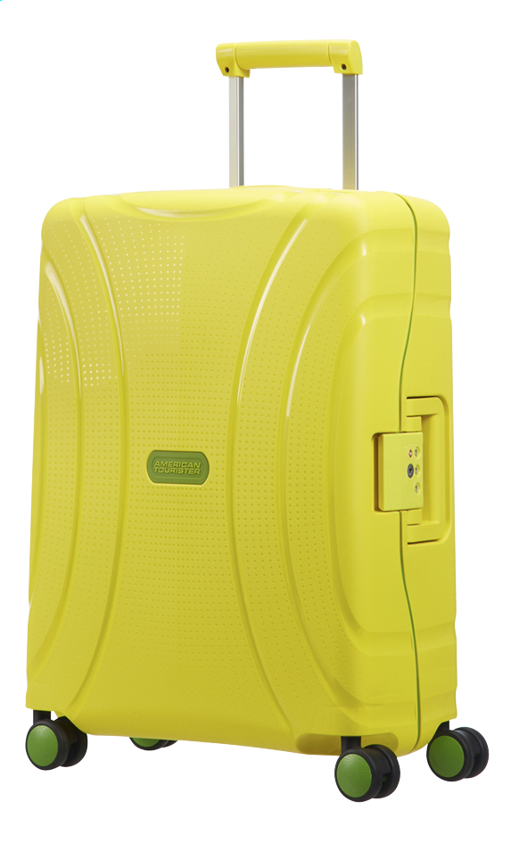 Afbeelding van American Tourister Harde reistrolley Lock'N'Roll Spinner sunshine yellow 55 cm from ColliShop