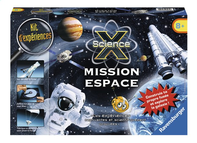 Afbeelding van Ravensburger Science X : Mission Espace FR from ColliShop