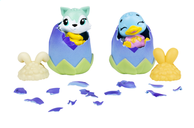 Afbeelding van Hatchimals CollEGGtibles Bunwee Hat 2-pack from ColliShop