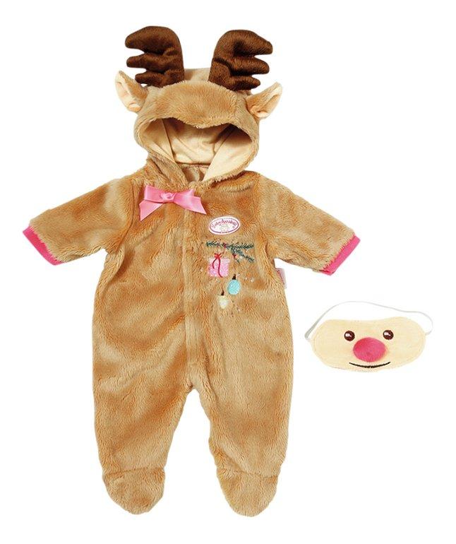 Baby Annabell kledijset Deluxe rendier