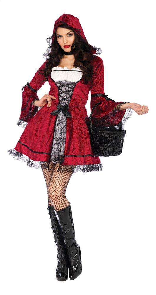 Afbeelding van Verkleedpak Gothic Miss Red Roodkapje maat M/L from ColliShop