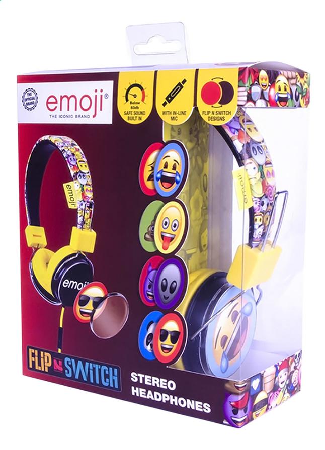 Image pour Emoji casque Flip & Switch noir/jaune à partir de ColliShop