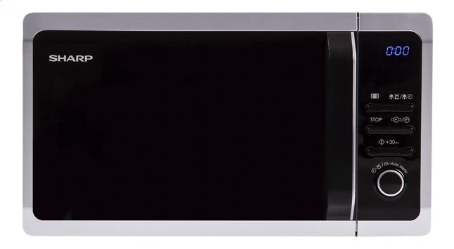 Image pour Sharp Micro-ondes Solo R243S argenté à partir de ColliShop