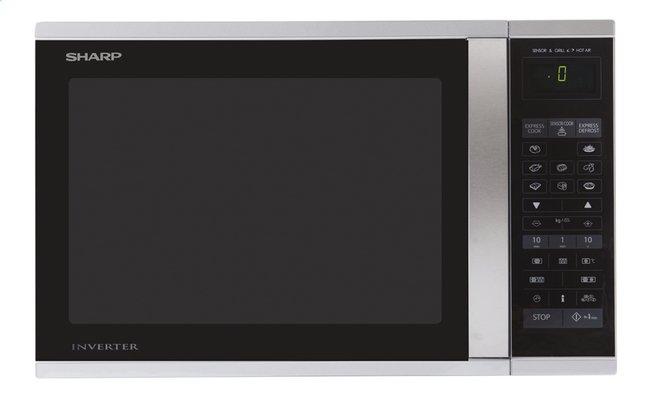 Image pour Sharp Micro-ondes combiné R971INW argenté à partir de ColliShop