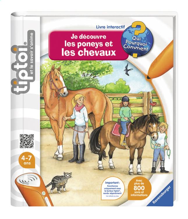 Image pour Ravensburger Tiptoi Je découvre les poneys et les chevaux à partir de ColliShop