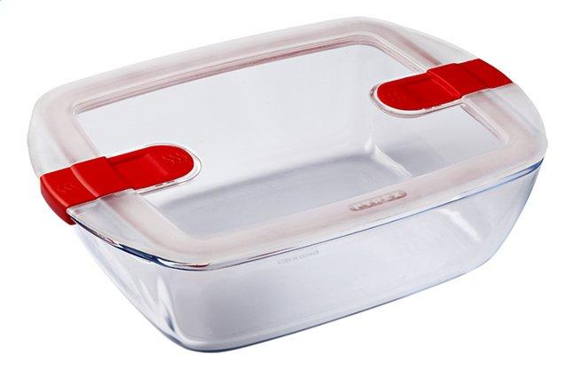 Pyrex Plat à four/boîte de conservation rectangulaire Cook & Heat