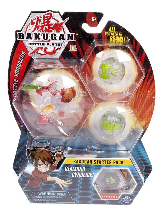 Bakugan Starter 3-Pack - Diamond Cyndeous
