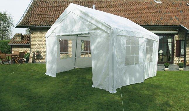 Image pour Tente de réception robuste en polyéthylène 4 x 4 m à partir de ColliShop